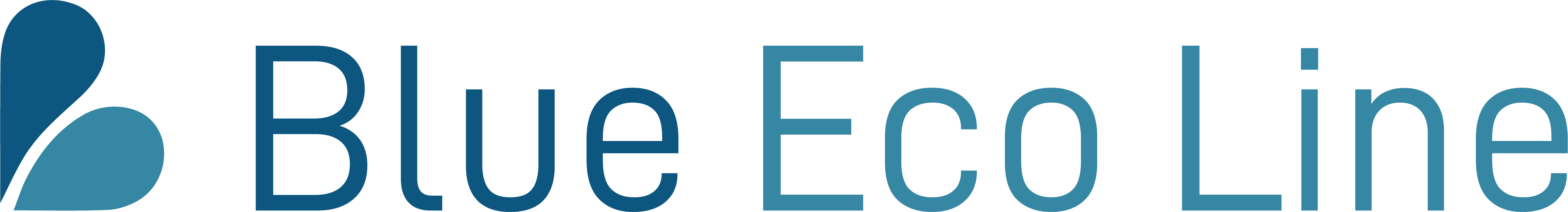Blue Eco Line Logo